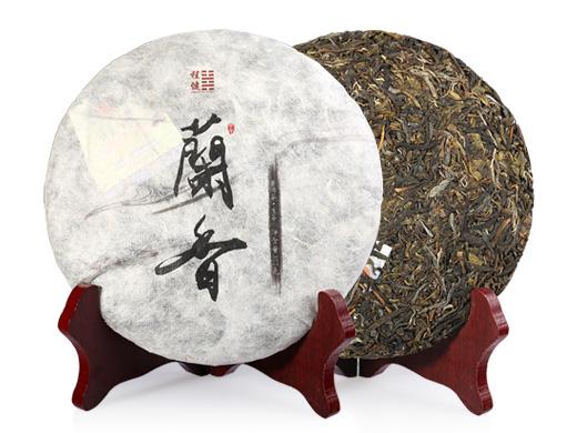 程健普洱 甲午・兰香古树纯料生茶357克