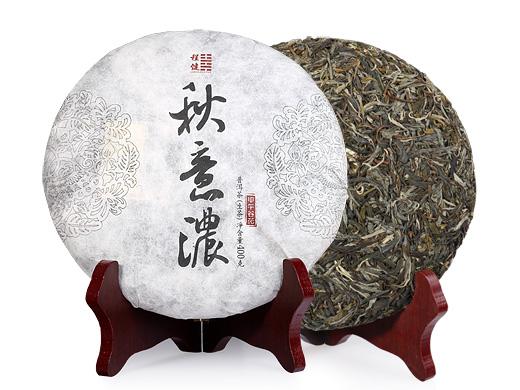 程健普洱 秋意浓古树纯料普洱生茶400克