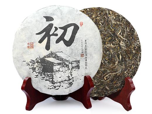程健普洱 初品古树纯料普洱生茶400克